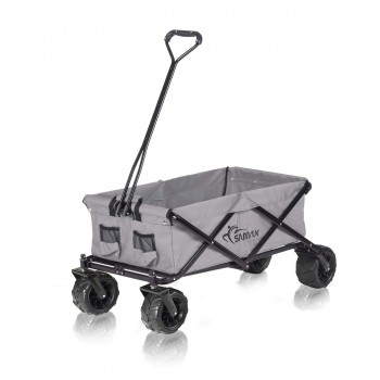 SAMAX Foldable Hand Cart Offroad - Grey – Bild 3
