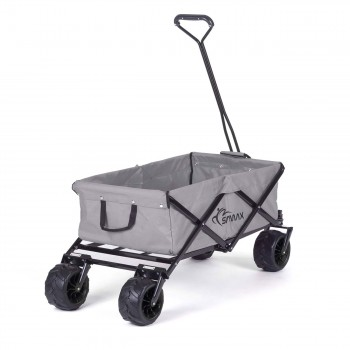 SAMAX Foldable Hand Cart Offroad - Grey – Bild 5
