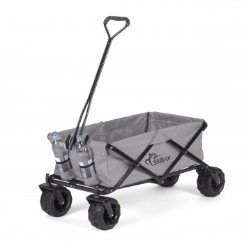 SAMAX Foldable Hand Cart Offroad - Grey – Bild 4