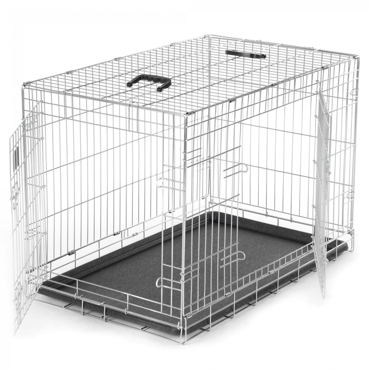cage pour chiens caisse box de transport cage de animaux chiots pliable m tal l ebay. Black Bedroom Furniture Sets. Home Design Ideas