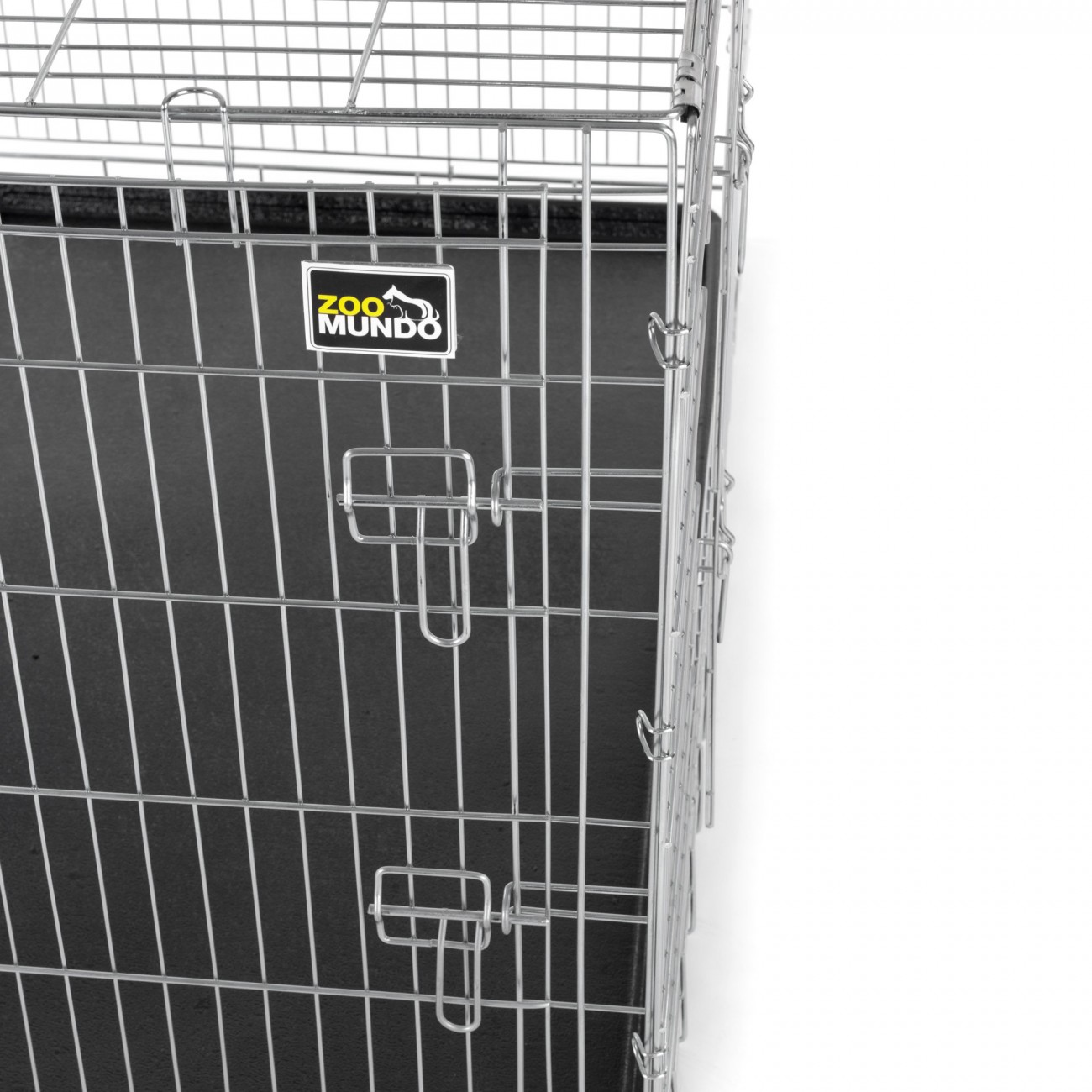 cage pour chiens caisse box de transport cage animaux chiots pliable m tal xxl ebay. Black Bedroom Furniture Sets. Home Design Ideas