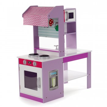 Baby Vivo - Wooden Play Kitchen for Children - Emma – Bild 1