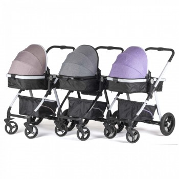 BABY VIVO Kinderwagen 2in1 Kombination – Bild 1
