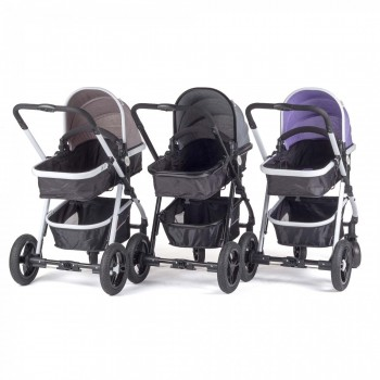 BABY VIVO Kinderwagen 2in1 Kombination – Bild 2