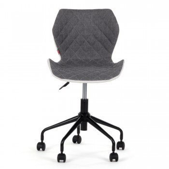 MY SIT Office Chair adjustable Stool INO Grey/White – Bild 2