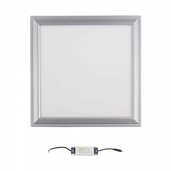 MAXCRAFT LED panel spotlight slim 12 watts dimensions: 300x300x15 mm cool white