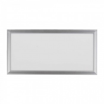 MAXCRAFT LED Panel Leuchte Slim 24W 600 x 300 x 15 mm - Warmweiß – Bild 1