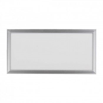 MAXCRAFT LED panel spotlight slim 24 watts dimensions: 300x600x15 mm cool white – Bild 1