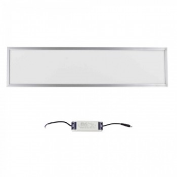 MAXCRAFT LED panel spotlight slim 36 watts dimensions: 1200x300x15 mm cool white – Bild 2