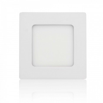 MAXCRAFT LED panel spotlight square 6 watts dimensions: 120x120 mm cool white – Bild 1