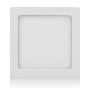MAXCRAFT LED panel spotlight square 12 watts dimensions: 170x170 mm cool white – Bild 1