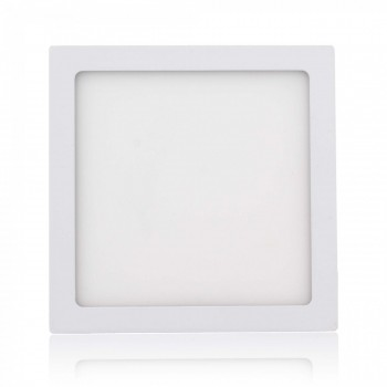MAXCRAFT LED panel spotlight square 18 watts dimensions: 225x225 mm warm white – Bild 1