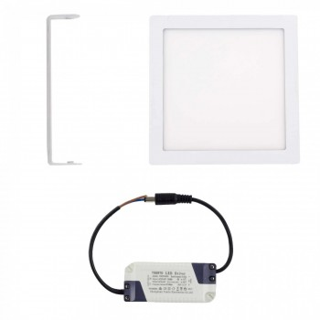 MAXCRAFT LED panel spotlight square 24 watts dimensions: 300x300 mm warm white – Bild 2