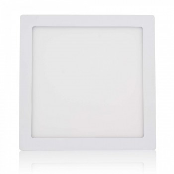 MAXCRAFT LED panel spotlight square 24 watts dimensions: 300x300 mm cool white – Bild 1