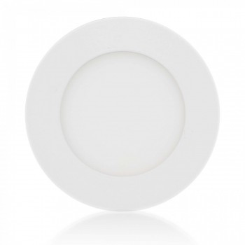 MAXCRAFT LED panel spotlight lamp round 6 watts diameter 120 mm cool white – Bild 1