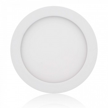MAXCRAFT LED panel spotlight lamp round 12 watts diameter 170 mm warm white – Bild 1