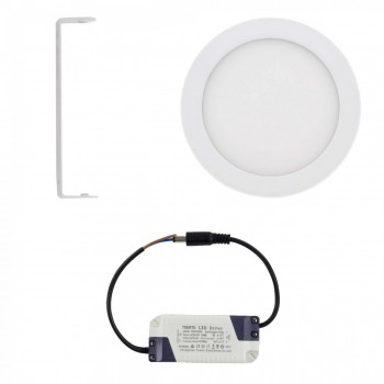 MAXCRAFT LED panel spotlight lamp round 12 watts diameter 170 mm cool white – Bild 2