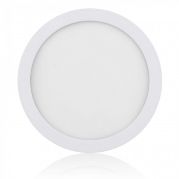 MAXCRAFT LED panel spotlight lamp round 18 watts diameter 220 mm warm white – Bild 1