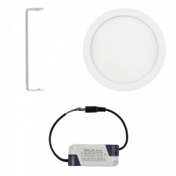 MAXCRAFT LED panel spotlight lamp round 18 watts diameter 220 mm cool white – Bild 2