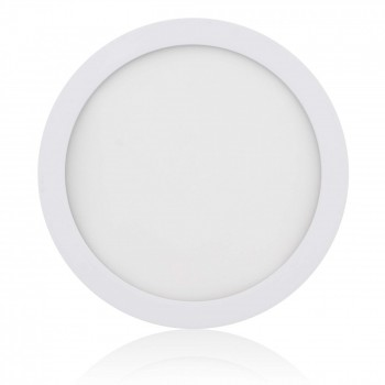MAXCRAFT LED panel spotlight lamp round 18 watts diameter 220 mm cool white – Bild 1