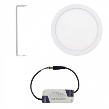 MAXCRAFT LED panel spotlight lamp round 24 watts diameter 300 mm cool white – Bild 2