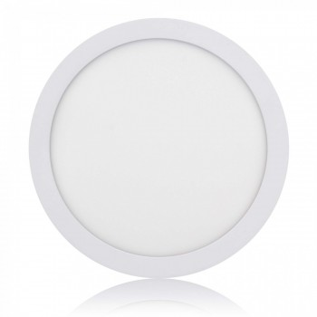 MAXCRAFT LED panel spotlight lamp round 24 watts diameter 300 mm cool white – Bild 1