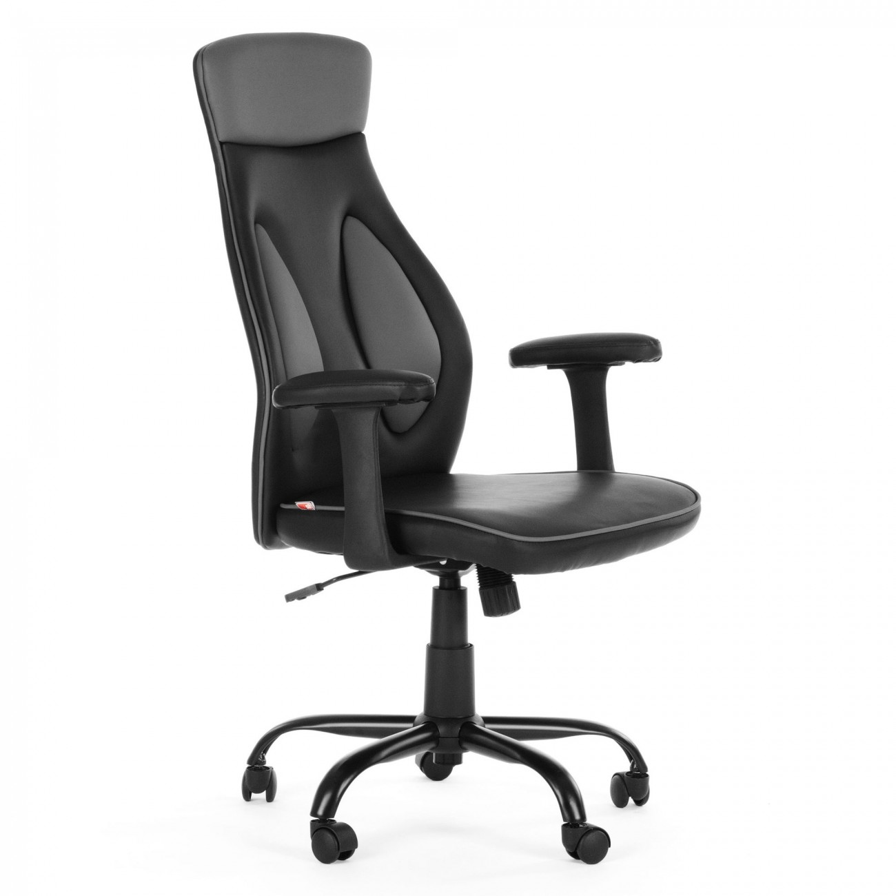 My sit office chair samoa faux leather in black office for Sitting chairs