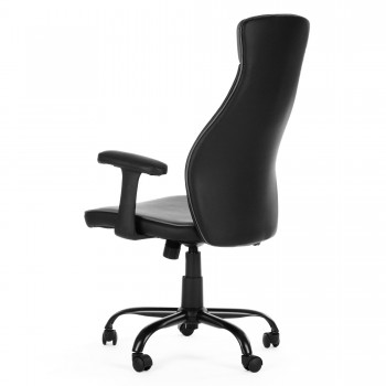 MY SIT Office Chair Samoa Faux Leather in Black – Bild 5