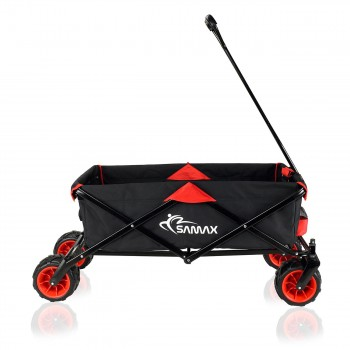 SAMAX Foldable Hand Cart Offroad - Black / Red – Bild 6