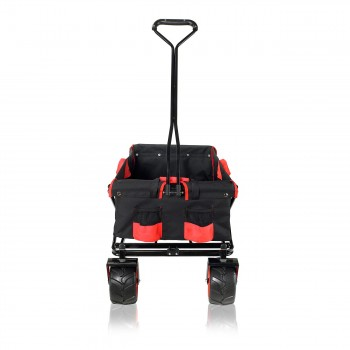 SAMAX Foldable Hand Cart Offroad - Black / Red – Bild 7
