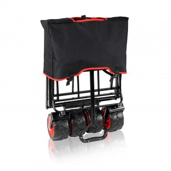 SAMAX Foldable Hand Cart Offroad - Black / Red – Bild 10
