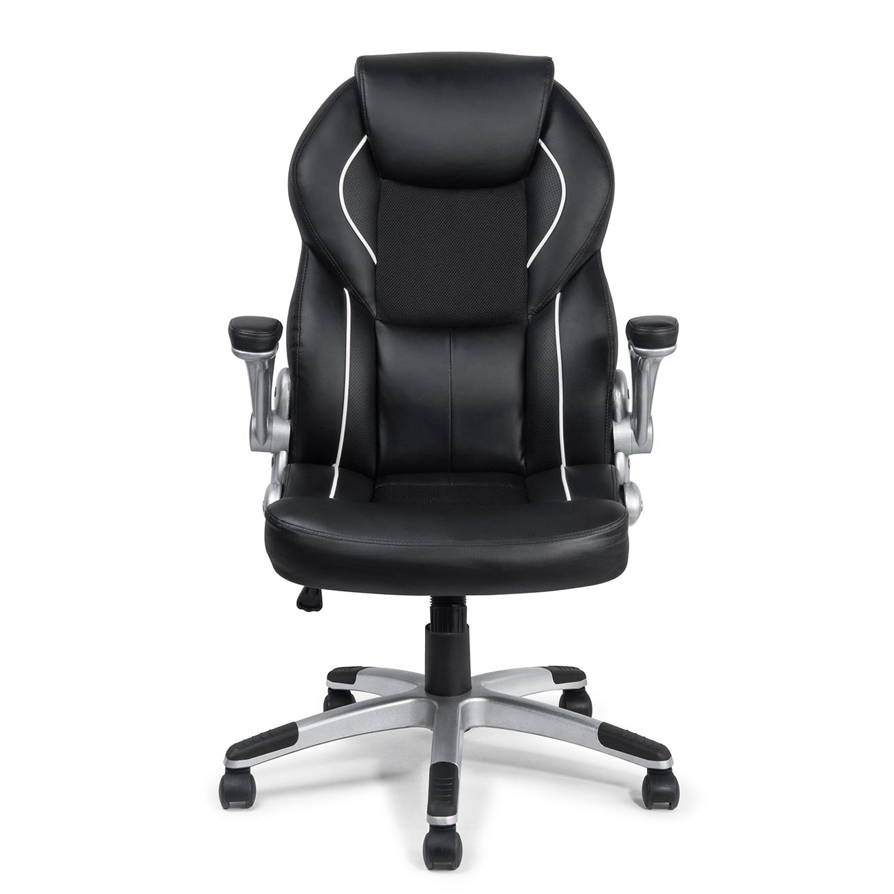 my sit office chair montreal faux leather in black office