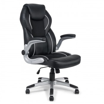 MY SIT Office Chair Montreal Faux Leather in Black – Bild 1