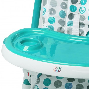 Baby Vivo Baby High Chair Infant Feeding Seat - Tippy in Turquoise – Bild 9
