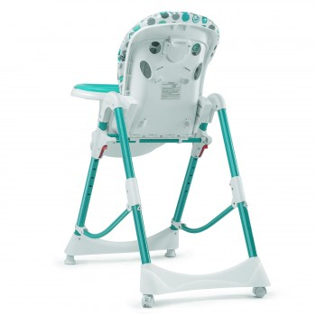 Baby Vivo Baby High Chair Infant Feeding Seat - Tippy in Turquoise – Bild 3