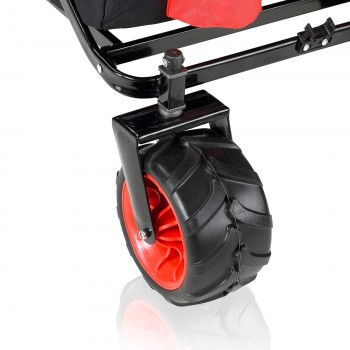 SAMAX Foldable Hand Cart Offroad Cool - Black / Red – Bild 11