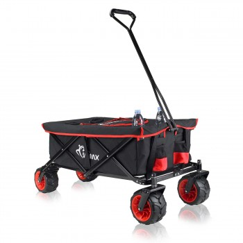 SAMAX Foldable Hand Cart Offroad Cool - Black / Red – Bild 3
