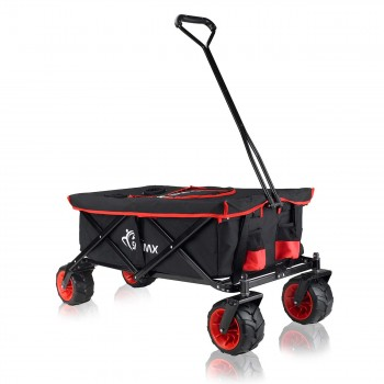 SAMAX Foldable Hand Cart Offroad Cool - Black / Red – Bild 1