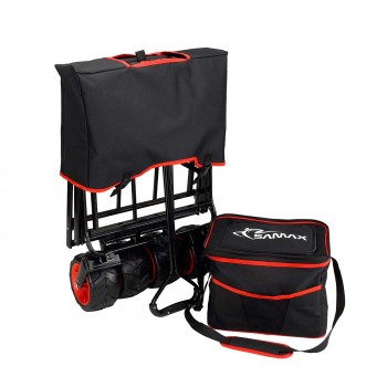 SAMAX Foldable Hand Cart Offroad Cool - Black / Red – Bild 10