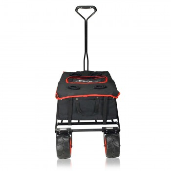 SAMAX Foldable Hand Cart Offroad Cool - Black / Red – Bild 2