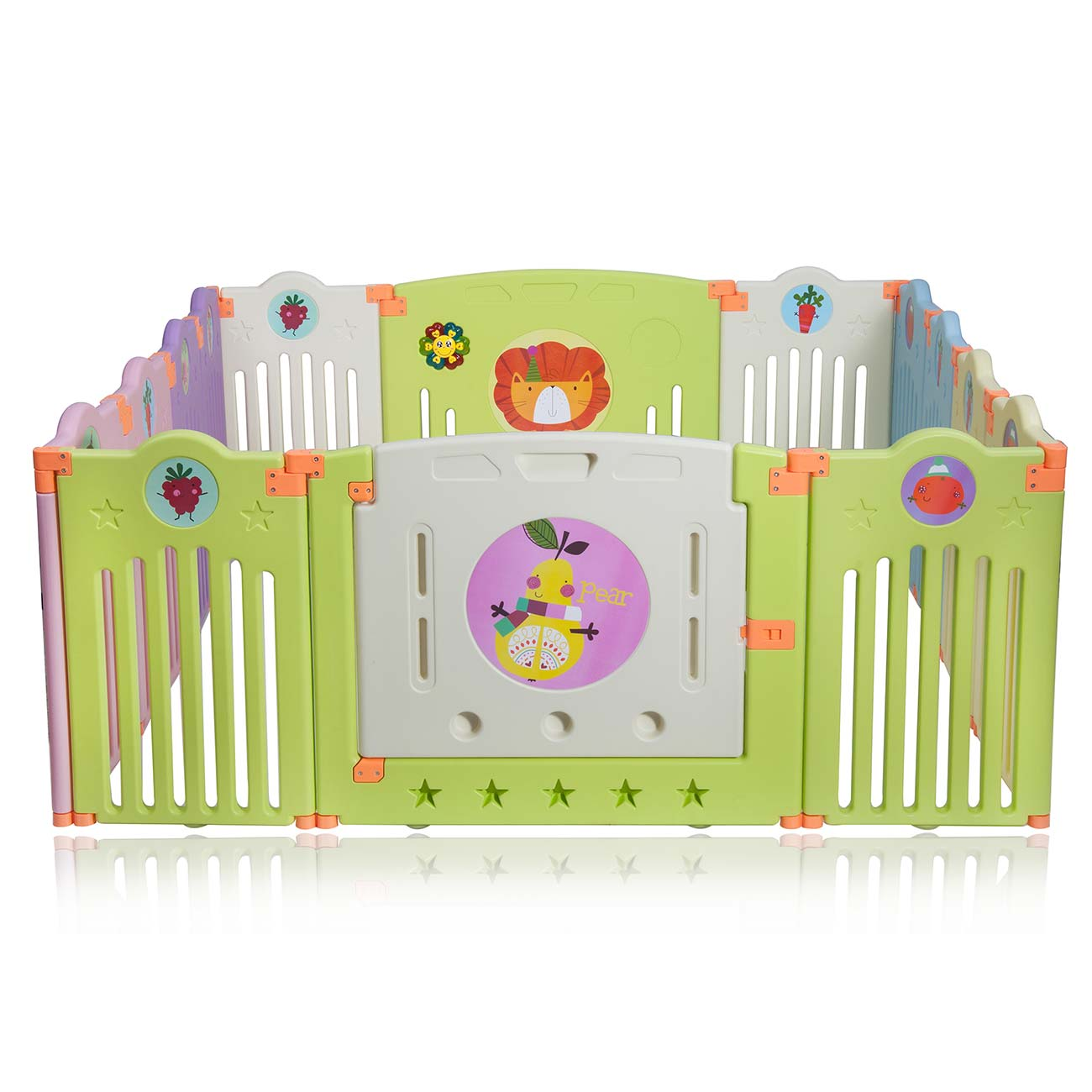 Baby Playpen Plastic Play Pen Foldable Portable Room