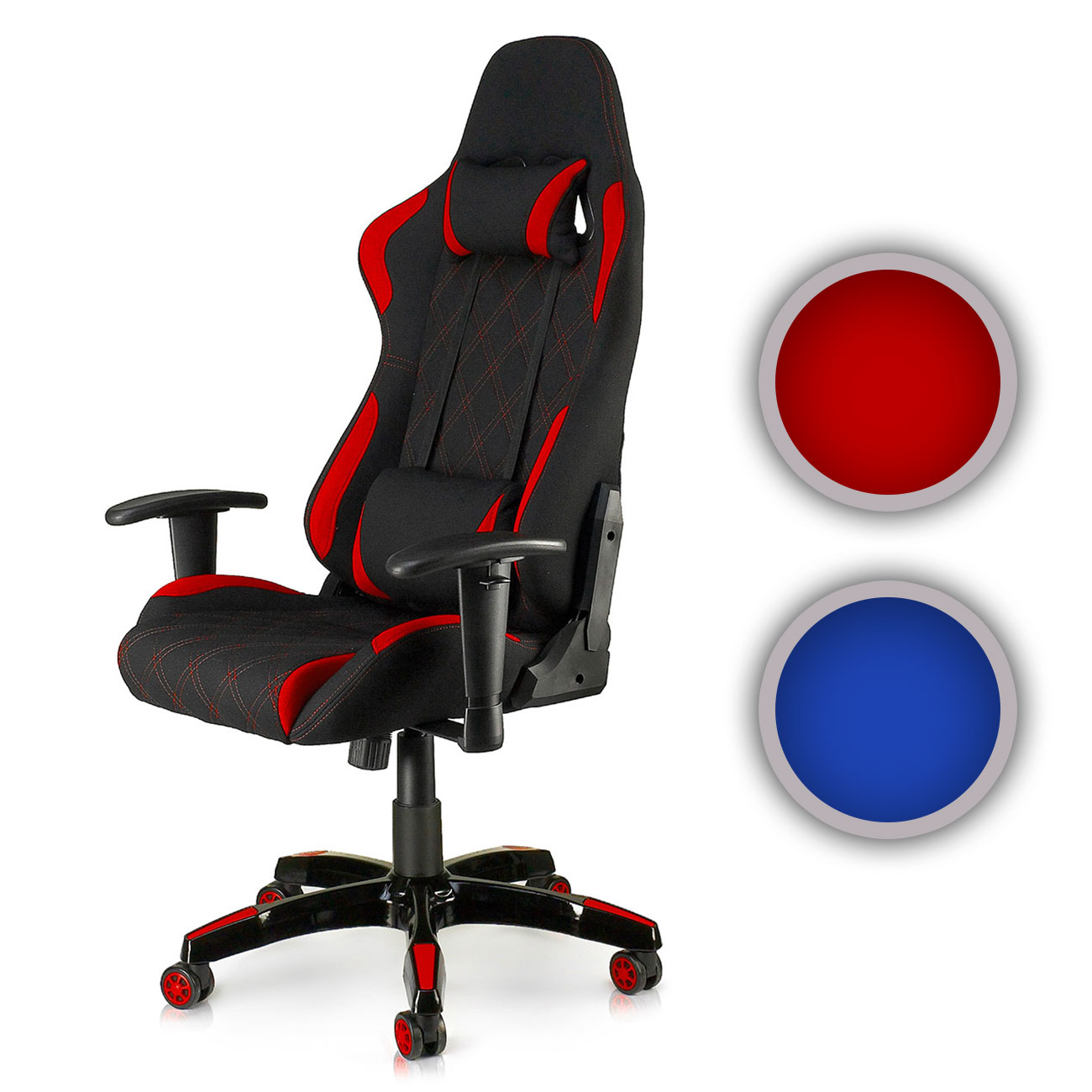 chaise bureau fauteuil si ge racing gamer sport ordinateur accoudoir neuf racer ebay. Black Bedroom Furniture Sets. Home Design Ideas
