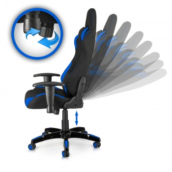 MY SIT Office Chair Racing Chair Blue Racer – Bild 9