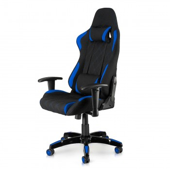 MY SIT Office Chair Racing Chair Blue Racer – Bild 1