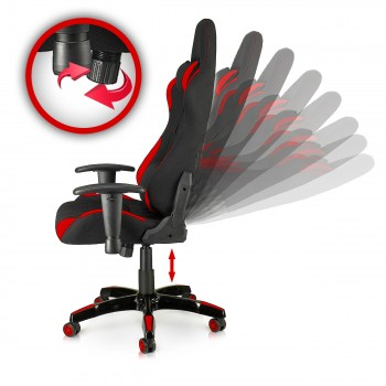MY SIT Office Chair Racing Chair Red Racer – Bild 9