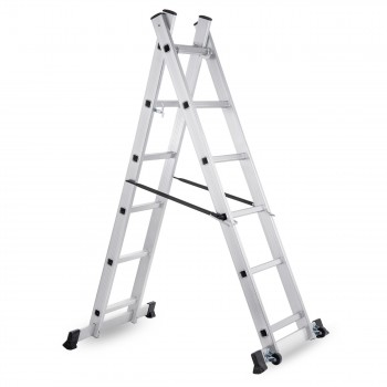 MAXCRAFT Mobile Aluminium Work Platform / Multifunction Scaffold with Wheels – Bild 5