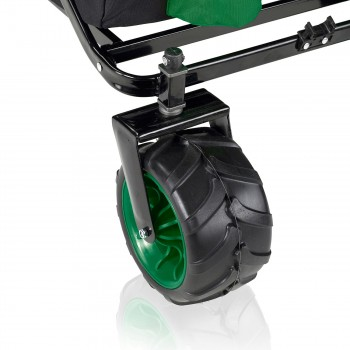 SAMAX Foldable Hand Cart Offroad - Black / Green – Bild 11