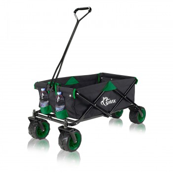 SAMAX Foldable Hand Cart Offroad - Black / Green – Bild 4