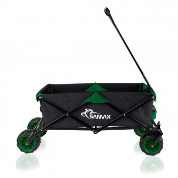 SAMAX Foldable Hand Cart Offroad - Black / Green – Bild 6