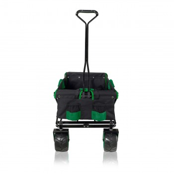 SAMAX Foldable Hand Cart Offroad - Black / Green – Bild 7